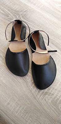 Šití barefoot polobalerinek