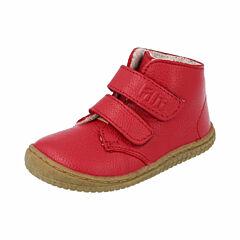 Filii barefoot kotníková obuv - bio nappa fire wool fleece velcro - 32