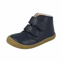 Filii barefoot kotníková obuv - bio navy wool velcro - 32