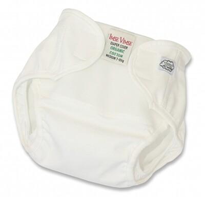 Svrchní kalhotky Organic Imse Vimse Bílá