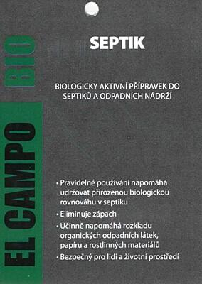 EL CAMPO BIO Septik Y&B