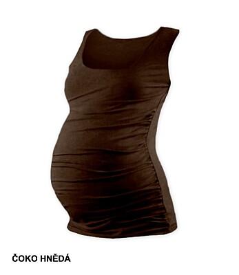 Těhotenské tričko JOHANKA bez rukávů Jožánek