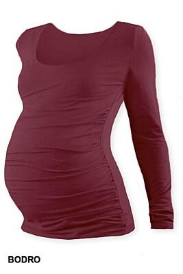 Těhotenské tričko JOHANKA dlouhý rukáv Jožánek