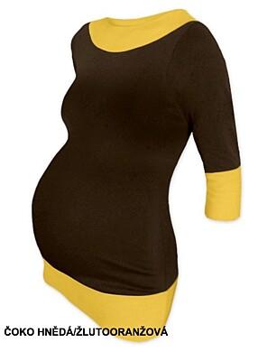 Těhotenská tunika dvojbarevná DIANA Jožánek