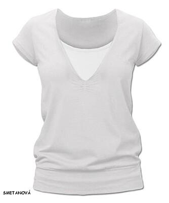 Kojící tričko KARLA krátký rukáv Jožánek