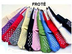 Dětské protiskluzové froté ponožky vel. 1 Diba - neutrální barvy