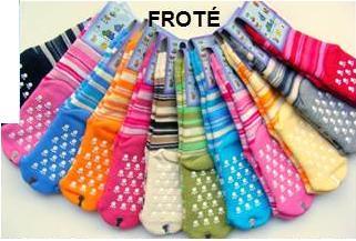 Dětské protiskluzové froté ponožky vel. 1 Diba