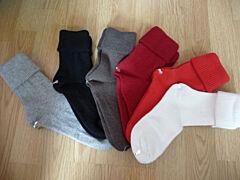 Vlněné ponožky dámské Diba - Černá