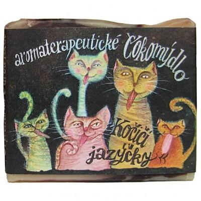 Mýdlo Kočičí jazýčky Mydlárna U dvou koček