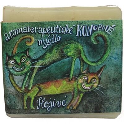 Mýdlo Konopné hojivé Mydlárna U dvou koček