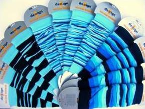 Návleky Design Socks - mix modrá