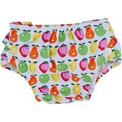Plenkové plavky barevné ovoce Popolini - S