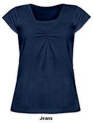 Kojící tričko KLAUDIE krátký rukáv Jožánek - M/L, jeans