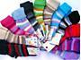 Ohrnovací vlněné ponožky vel. 3 - neutrální barvy