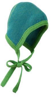Pletená čepička na zavazování Disana velikost 0