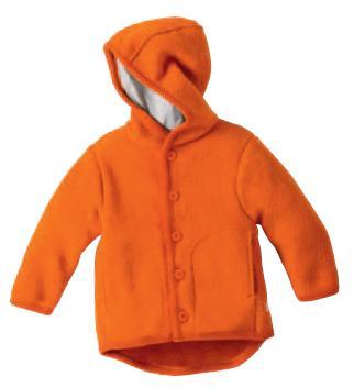 Kabátek s kapucí merino vlna 62/68 Disana