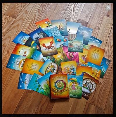 Inspirační karty Cesta k sobě v krabičce