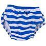 Plenkové plavky modré s proužkem Popolini - S