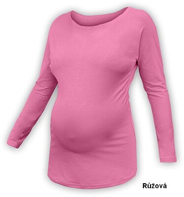 Netopýří těhotenské tričko Nikola, dlouhý rukáv Jožánek DOPRODEJ
