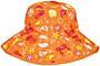Baby Banz klobouček s UV oboustranný oranžové moře - kidz