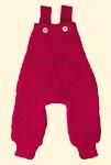 Kalhoty s laclem pletené Disana