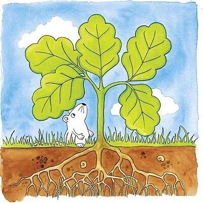 Strom – vývojové vrstvené puzzle ze dřeva Goki