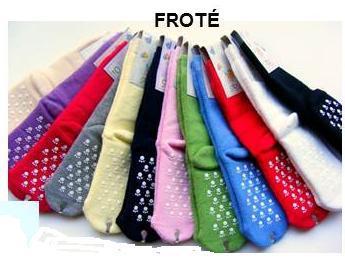 Dětské protiskluzové froté ponožky vel. 3 Diba