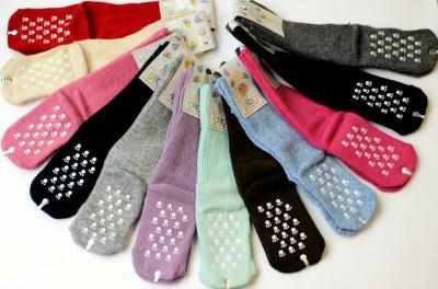 Dětské protiskluzové vlněné ponožky vel. 3 Diba