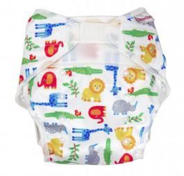 Svrchní kalhotky PUL suchý zip soft Imse Vimse Zoo