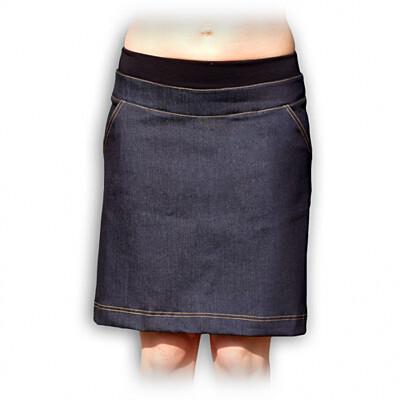 Těhotenská riflová sukně Jožánek - KRISTÝNA