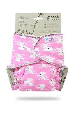 Kalhotková plena na patentky Petit Lulu