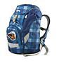 Batoh školní Ergobag prime modrý károvaný Ergobag - samostatný