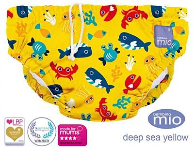 Plenkové plavky Deep Sea Yellow Bambino Mio