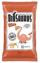 Křupky Biosaurus s kečupem 50g BIO McLloyd´S