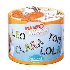 Razítka Aladine StampoMinos velká abeceda