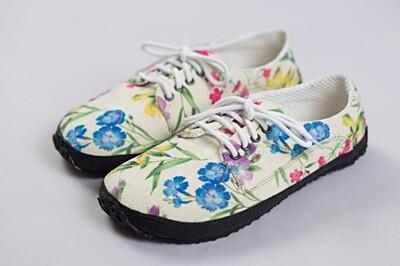 Barefoot boty Kytičkovaná Ahinsa shoes