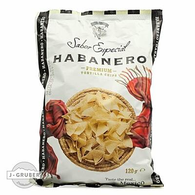 Tortilla chips Habanero 120 g