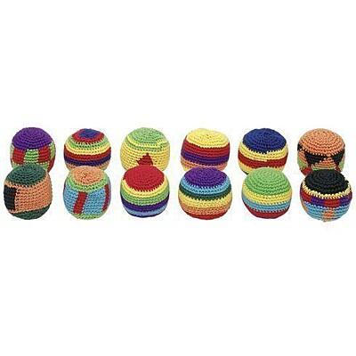 Háčkované žonglovací míčky Hakisáky Goki