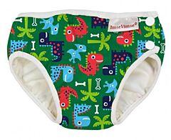 Plavky Imse Vimse Zelení dinosauři S 5-8kg