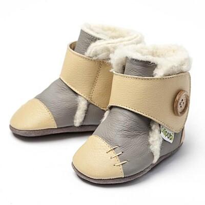 Zimní botičky Liliputi Arctic šedé