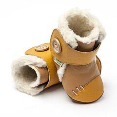 Zimní botičky Liliputi Arctic karamelové - XXL