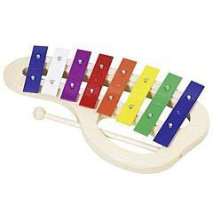 Xylofon barevný 8 tónů Goki