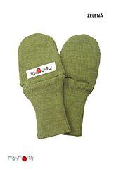 Manymonths rukavičky s palcem Innovator - zelená