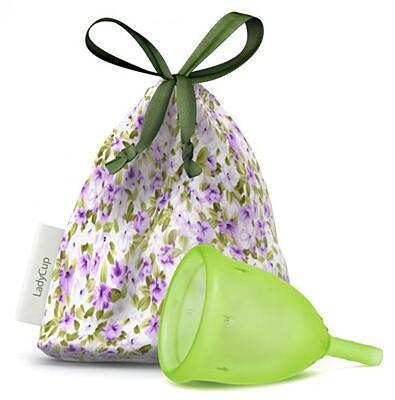 Menstruační kalíšek LadyCup Zelená Louka