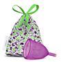Menstruační kalíšek LadyCup Letní Švestka - L
