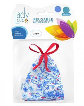 Menstruační kalíšek LadyCup Modrý