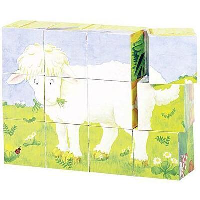 Kostky v dřevěné krabičce – Mláďata Goki