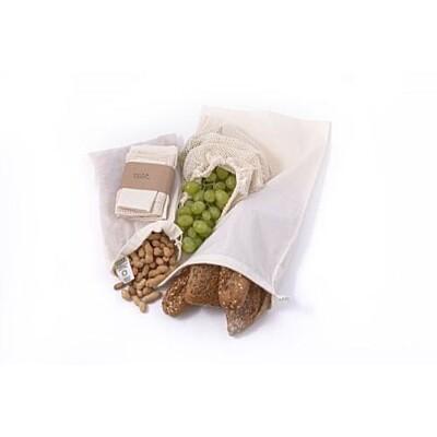 Sada sáčků na potraviny z biobavlny Tierra Organica