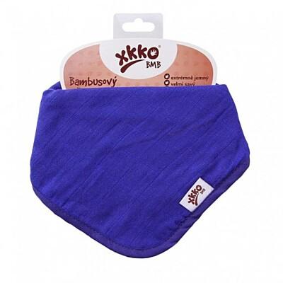 Bambusový slintáček/šátek OCEAN BLUE Kikko