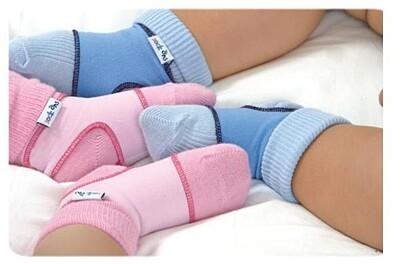 Návleky na ponožky Sock ons 0-6 měsíců Kikko